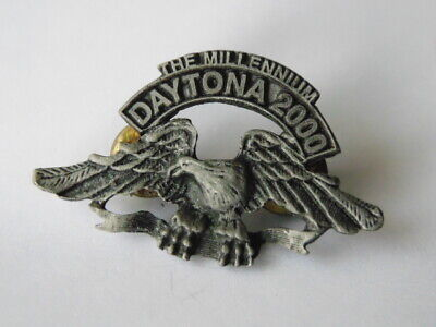 Harley-Davidson Pins Badge Collector Daytona 2000 The Millennium
