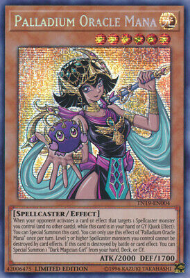 x1 Palladium Oracle Mana - TN19-EN004 - Prismatic Secret Rare - Limited Edition