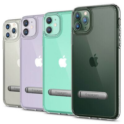 iPhone 11, 11 Pro, 11 Pro Max Case | Spigen® [Ultra Hybrid S] Clear Slim Cover