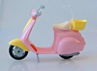 Barbie Pink Scooter Moped Toy 2016 Mattel
