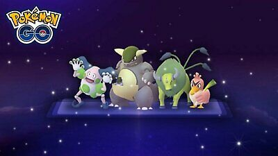 Pokemon Go Shiny Regional (Mr.Mime,Tauros,Kangaskhan,Farfetch'd) catch 100%