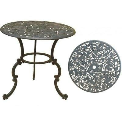 Cast Iron Garden Table - Leaves