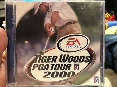 Tiger Woods PGA Tour 2000 (Sony PlayStation 1, 2000) Complete
