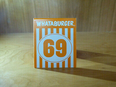 Whataburger Number 69 Table Tent