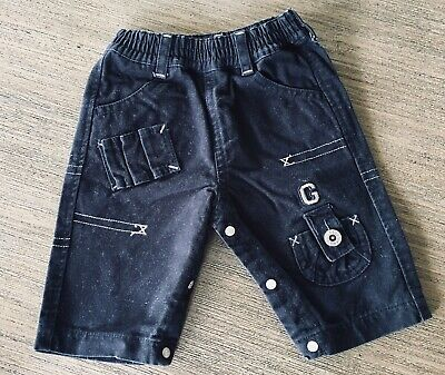 Guess Baby Boy's Navy Pants - Size 3 Months