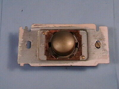 Vintage Honeywell Single Pole Tap-Lite Taplite Wall Light Switch Push Button