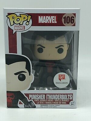 Funko Pop Marvel Universe  Punisher Thunderbolts Walgreens Exclusive #106