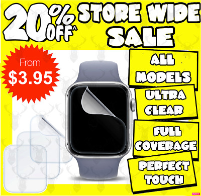x3 Screen Protector for Apple Watch Series 1/2/3/4/5 38/42mm 40/44mm iWatch