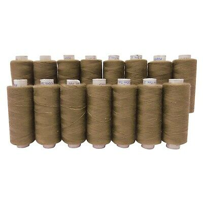 Set Of 15 Pcs Polyester Thread Reel Spun Spool Supplies Quilting Sewing