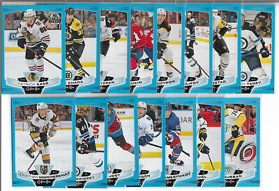 19-20 O-Pee-Chee Blue Border Parallel 15 Card Lot