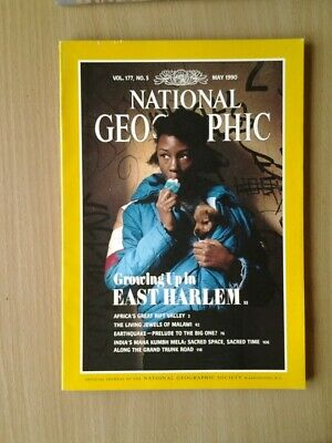National Geographic Magazine  May 1990