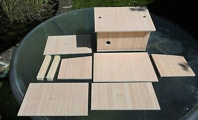 Solitary Bee Shelter In Kit Form For Overwintering Bees In Garden Or Allotment