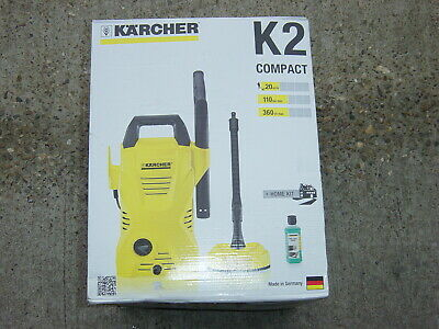 Karcher K2 Full Control 1400W 110Bar Pressure Washer With Home Kit