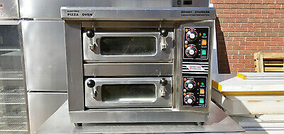 Pizza deck oven, electric