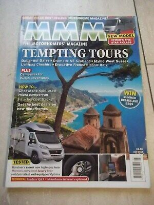 MMM Motorhome Magazine Dated JULY 2018