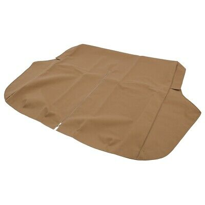 MG TD Full Tonneau Cover Tan Double duck = Canvas based material 1949-1953 NEW