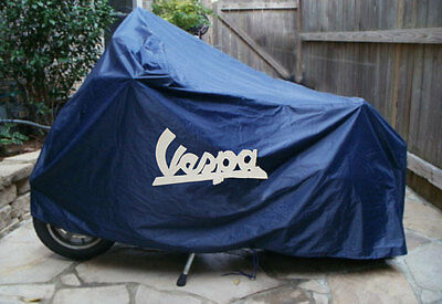 Vespa Scooter Cover With Logo In Pouch