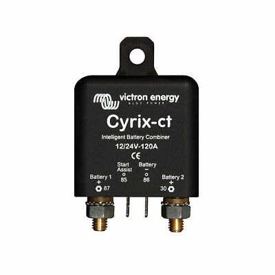 Victron Cyrix Automatic Two Battery Combiner 120–400 A 12/24 V