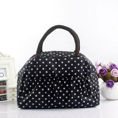 Portable Bag Insulated Picnic Lunch Box Tote Pouch Container Food Storage Bags
