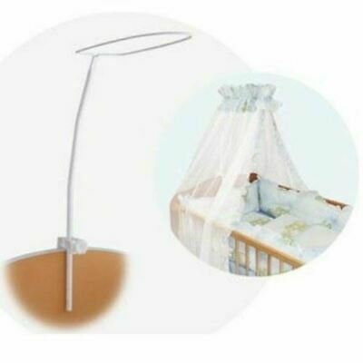 Cot Canopy Drape Bed Net Mosquito Baby Fits Holder pole Nursery bed cradle crib