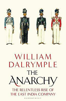 The Anarchy By William Dalrymple New Hardcover Book Biography Historical Gift UK