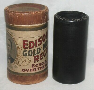Edison 2-Minute Cylinder Record 10522 Alexander's Ragtime Band Billy Murray  OBL