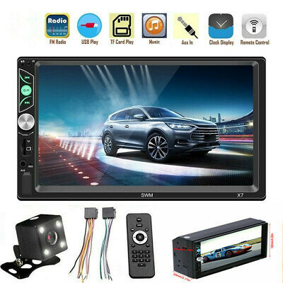 """Android 8.1 Double DIN 7""""HD Auto Car Stereo + WiFi Radio Player NEW"""