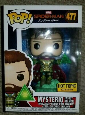 Funko Pop Mysterio Hot Topic Exclusive Hot Topic exclusive # 477 Far from Home