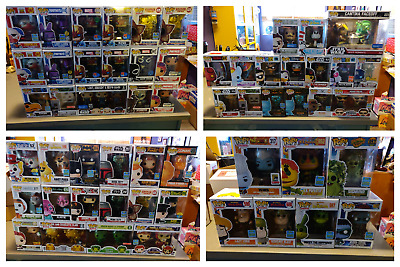 Huge Funko Pop lot 55+ almost all exclusives SDCC more includes Metallic Whis