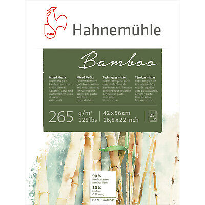 Hahnemuhle Bamboo 265gsm, 42x56cm Pad, 25 Sheets