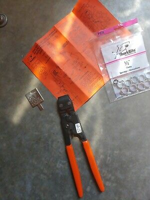 SharkBite 23081 Full Size Pex Clamp Tool Made in USA 4816 Pincer