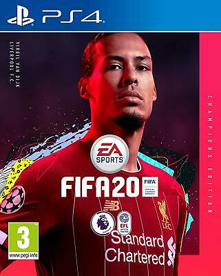 Fifa 20 Champions Edition PS4 New Factory Sealed UK Pal In Stock Now