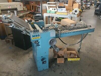 MBO B-20 RIGHT ANGLE, GOOD ROLLERS, 20x29 max sheet