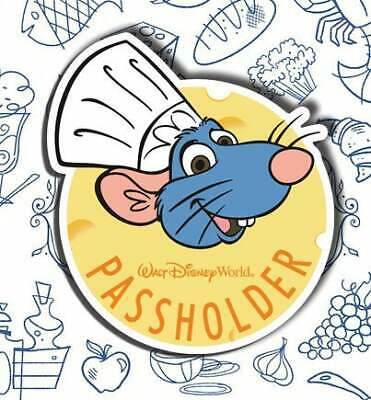 Disney World Annual Passholder Chef Remy MAGNET Food Wine Festival DECOY/COPY