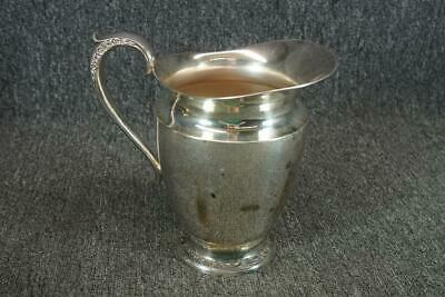 "Rogers & Bro 8"" Tall Silver Plated Pitcher With Handle"