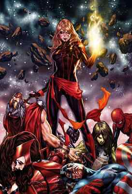 Captain Marvel 12 2019 Mark Brooks Unmasked Virgin Variant Nm Pre-Sale 11/20