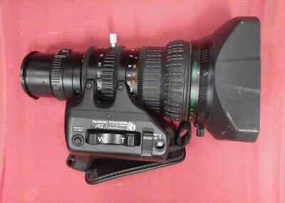 Fujinon TV Zoom Camera Lens S19x6.5BRM-38 1:1.4 / 6.5-123mm