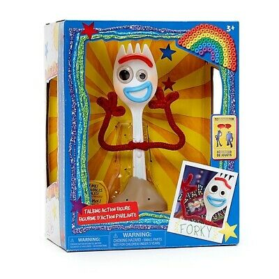 New Disney Store Forky Interactive Talking Action Figure Toy Story 4-7 1//4/'/'