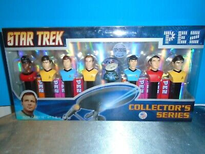 Star Trek TOS Pez Collectors Series 084106 Limited edition