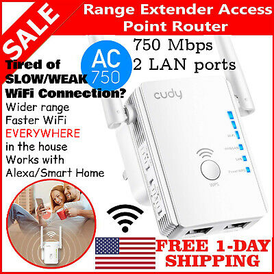 WiFi Range Extender 300 Internet Booster Network Router Wireless Signal Repeater