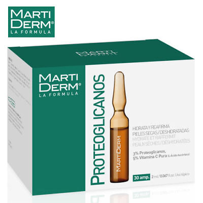MARTIDERM THE ORIGINALS PROTEOS HYDRA PLUS  Anti-Aging Ampoules  FREE SHIPPING !