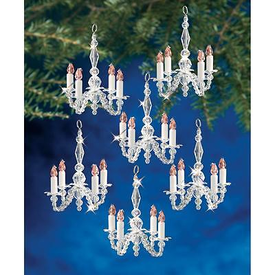 Holiday Beaded Ornament Kit CHRISTMAS CHANDELIERS Christmas Ornaments Makes 12