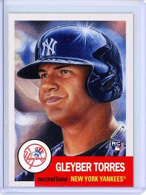 2018 Topps Living Set * GLEYBER TORRES (RC) * Rookie Card #34 * New York Yankees