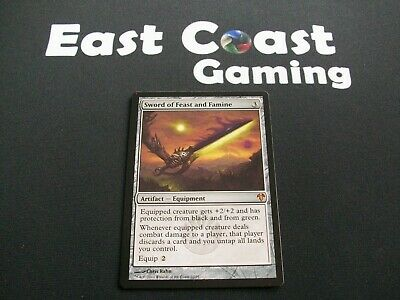 MTG - 1x Sword of Feast and Famine x1 - Modern Event Deck - NM/EX