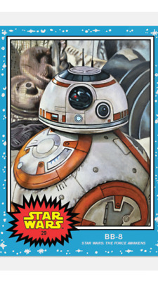 Topps Star Wars Living Set Card Bb-8 #29 Star Wars : The Force Awakens