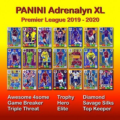 Panini Adrenalyn XL 2019-2020. Premier League. FOILS. Limited Editions, Diamond