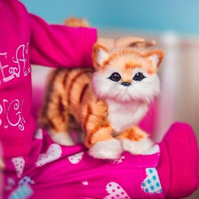 """The Queen's Treasures TABBY KITTY CAT Accessory Pet For 18"""" American Girl Dolls"""