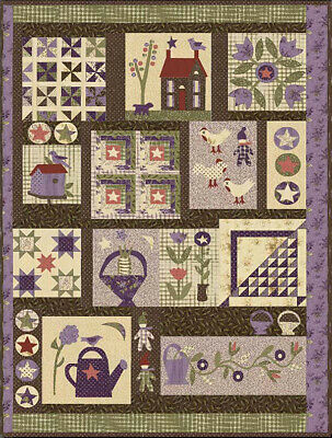 Jan Patek's Sampler Spree 12 Month BOM Quilt Pattern