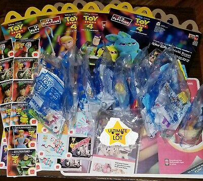 Toy Story 4 McDonalds Happy Meal Complete Set of 10 Toys New 🔥🔥✔✔ + BONUS