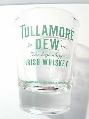 Tullamore Dew The Legendary Irish Whiskey Logo Shot Glass Great For Collection!